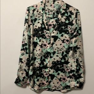 NWT EQUIPMENT FEMME FLORAL ADALYN BLOUSE Size M